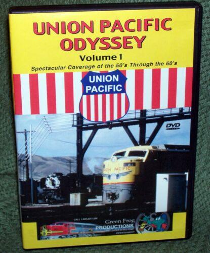 20020 DVD UNION PACIFIC ODYSSEY VOL. 1 EMERY GULASH