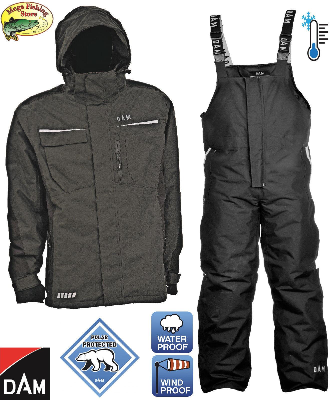 DAM Techni-Flex Thermoanzug Winteranzug Thermo Anzug Alle Größen Winterjacke Anzüge