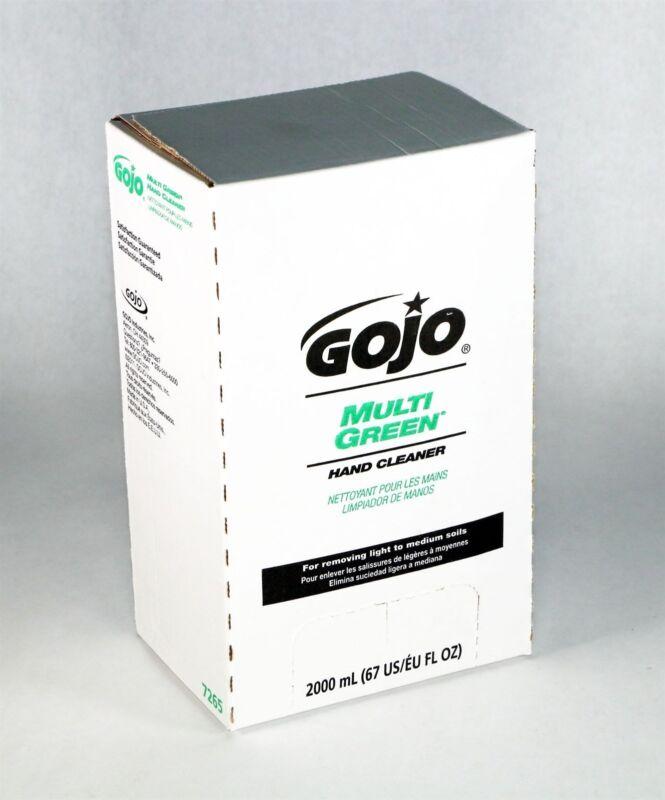 LOT 4 GOJO Multi Green Hand Cleaner 67oz/2000ml NEW  (9C)