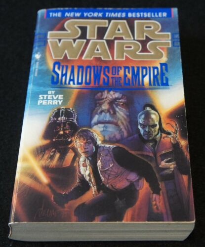 Star Wars Shadows of the Empire by Steve Perry Paperback Books Good Condition!