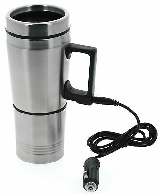 Eléctricos Calefacción Termo Térmicas Recorrido Taza Bebida Coche 12V Más Cálido