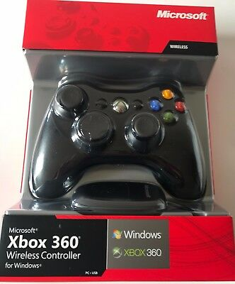 Official Microsoft Xbox 360 Wireless Controller for Xbox 360 & Windows PC