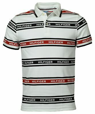 Tommy Hilfiger Sport Men's Classic Fit Performance Logo Polo Shirt