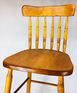 Vintage furniture Dominion LTD chair company bar stool