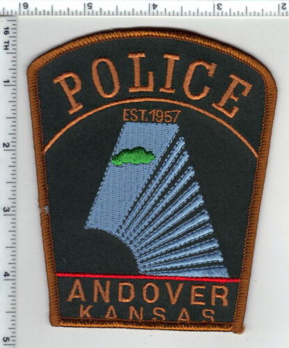 Andover Police (Kansas) Shoulder Patch - new from the 1980