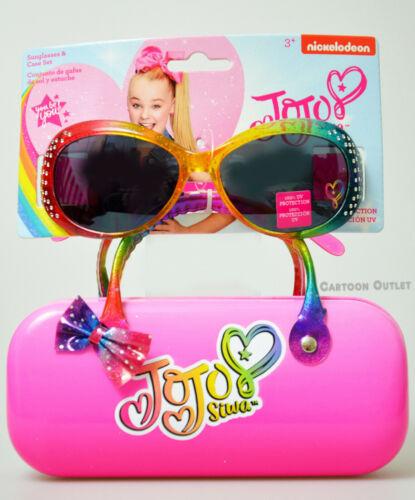 JoJo Siwa Official Eye Glasses Hard Case Jo Jo Glasses Case Set New Pink Girls