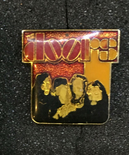 Vintage The Doors Enamel Pin Rock Band