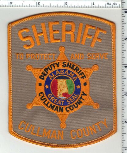 Cullman County Sheriff (Alabama) 3rd Issue Shoulder Patch