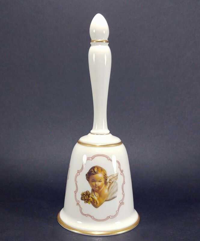 1978 Antonio Barsato Gorham Fine China Porcelain The Cherub Bell