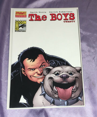 THE BOYS #20~SDCC EXCLUSIVE VARIANT~GARTH ENNIS (PREACHER)/ROBERTSON~