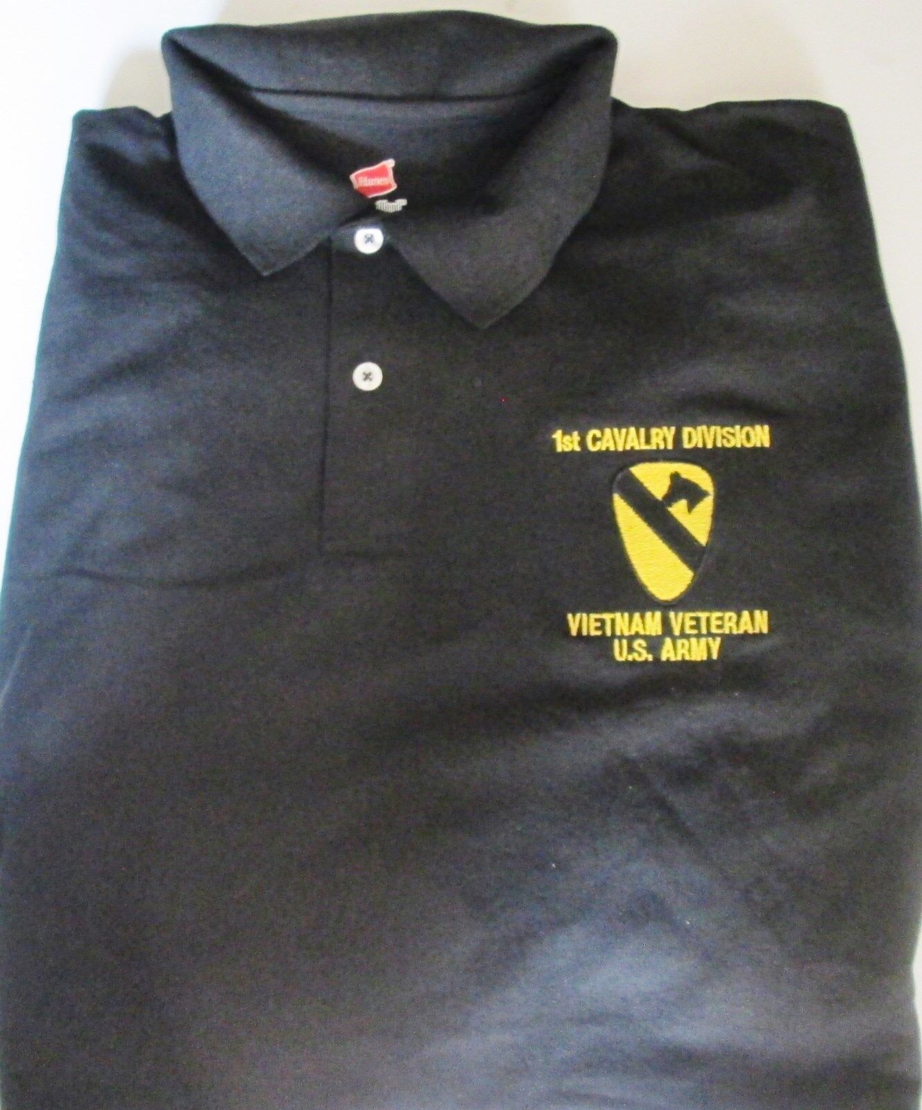 US Army Veteran 3rd Infantry Division Mens Casual Polo Shirt