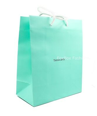 TIFFANY & Co. Blue Paper Shopping Gift Bag ~ 8
