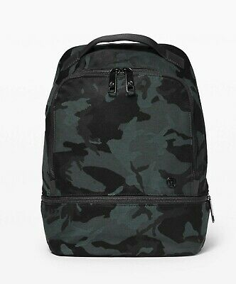NEW LULULEMON City Adventurer Backpack Mini 10L Jacquard Camo Obsidian Black