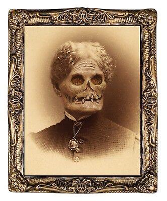 HUGE Demon Monster Granny Hazel LENTICULAR PICTURE PORTRAIT Halloween Prop Decor - Painting Halloween Props