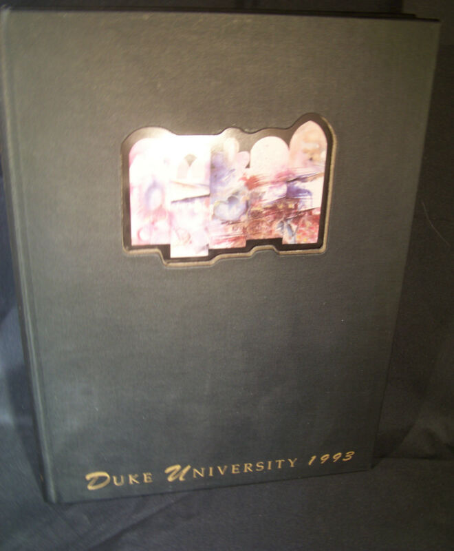 The Chanticleer 1993 Duke University Yearbook Durham North Carolina