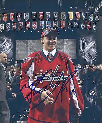 Washington Capitals Thomas Di Pauli Signed 8X10 Photo