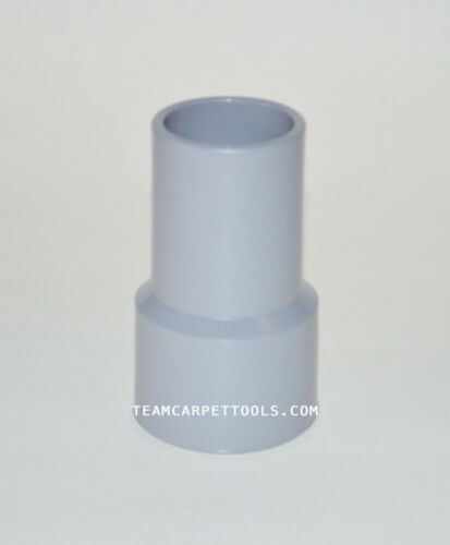 Carpet Cleaning Vacuum Hose Cuff / Connector 1.5 inches Grey Vinyl