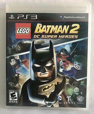 LEGO Batman 2: DC Super Heroes (2012, PS3) Complete