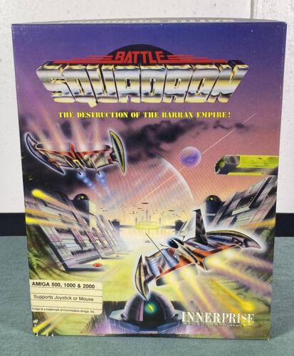 Computer Games - Commodore Amiga Battle Squadron PC Computer Video Game w/ Manual & Box
