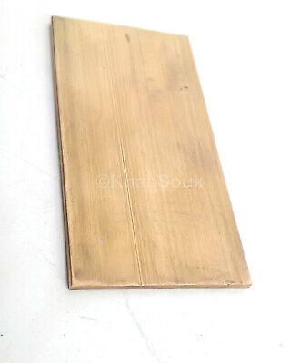 14 X 2 C360 Brass Flat Bar 4 Long Solid Plate Mill Stock H02 .25x 2.00