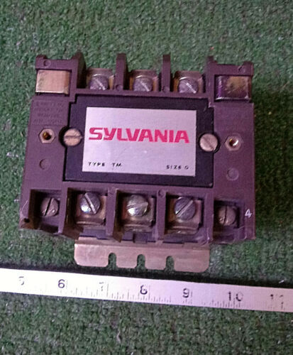 1 USED SYLVANIA T77U030 COIL CONTACTOR NEMA SIZE 0 ***MAKE OFFER***