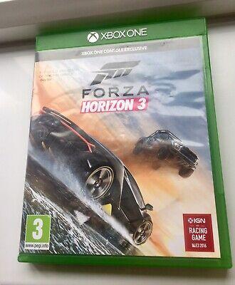 Forza: Horizon 3 (Microsoft Xbox One, 2016) Game VGC