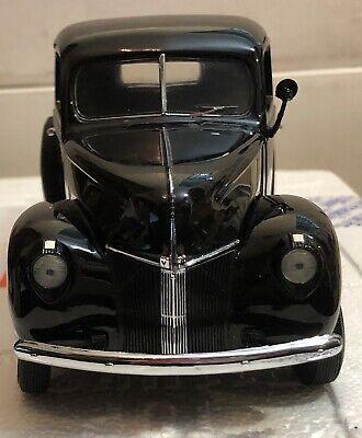Franklin Mint 1940 Ford V-8 Pickup Truck 1:24 Scale Diecast Model Black