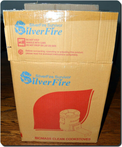 SilverFire Rocket Stove Camp Stove - tested once + Bonus New Coleman Camp Oven!