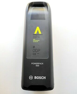 Bosch Powerpack 500 electric bike battery & charger