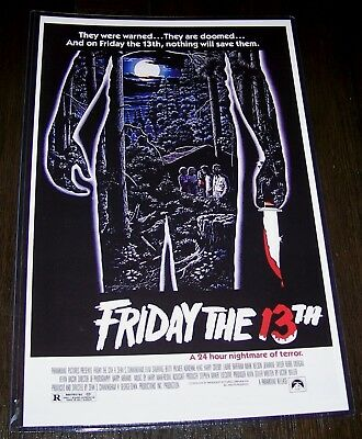Friday the 13th Part 1 Betsy Palmer 11X17 Original Movie Poster