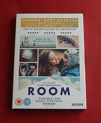 Room - Region 2 DVD - Brie Larson Jacob Tremblay Lenny Abrahamson Oscar Winner
