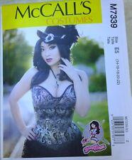 McCall 7339 6-22 Corset Top Bodice Sweetheart Neckline Boning Yaya Han Pattern