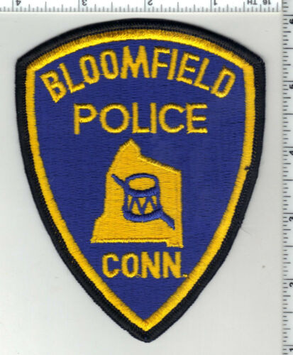 Bloomfield Police (Connecticut) 3rd Issue Shoulder Patch