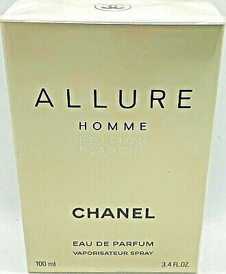 CHANEL ALLURE HOMME ÉDITION BLANCHE Eau de Parfum Spray 100 ml OVP/NEU
