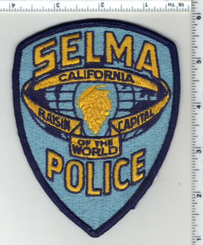 Selma Police (California) 1st Issue Uniform Take-Off Shoulder Patch