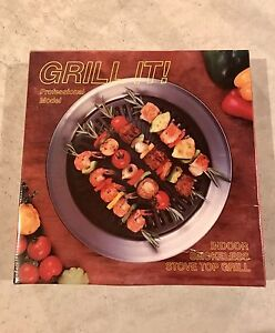"""Grill It"" Indoor Smokeless Stove Top Grill"