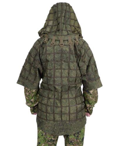 "SPOSN SSO Disguise Sniper Coat ""Ghost"" Prizrak / Viper Hood EMR Digital Flora"