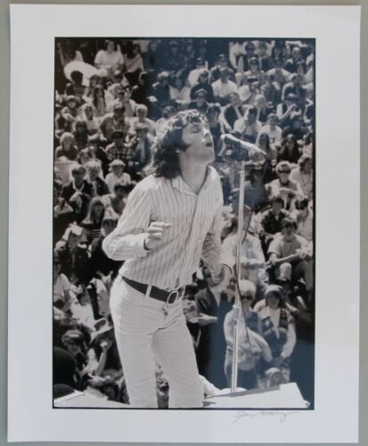 Jim Morrison of the Doors. Photo by Gene Anthony, Magic Mountain Festival, 1967