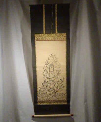 Japanese Shinto Shrine Hanging Scroll Print -  56680
