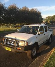 2004 NAVARA ST-R 4x4 TURBO DIESEL DUAL CAB UTE only 182000 KM's Concord Canada Bay Area Preview
