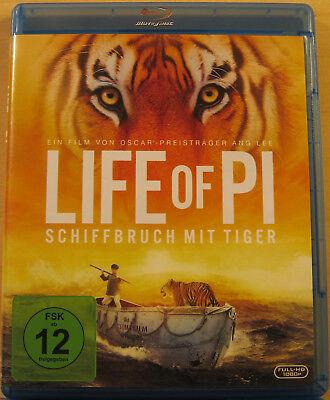 Blu-ray - Life of Pi - Schiffbruch mit Tiger  - neuwertig - kostenloser Versand (Drama Kostenlos)