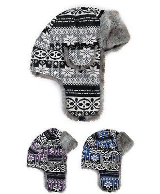- Winter Aztec Trapper Aviator Hat (TH10003)