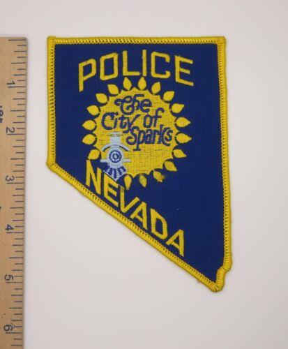 The CITY of SPARKS NEVADA POLICE PATCH Vintage Original