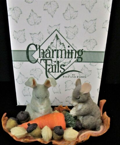 Fitz & Floyd - Charming Tails - Giving Thanks  #85/608 - MIB!