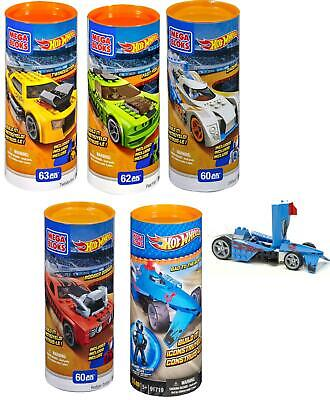 Mega Bloks Hot Wheels Build N Collect Tubes Collect them all!