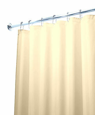 Deluxe Quality Shower Curtain Liner Beige 70