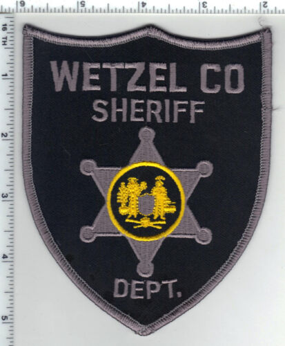 Wetzel County Sheriff Dept. (West Virginia) 2nd Issue Shoulder Patch