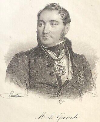 Antoine Eugène Génoude dit Abbé Génoude 1792-1849 France Traducteur de la Bible