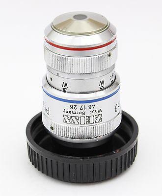 Zeiss Plan Neofluar 40x 0.90 160mm Ph3 Imm Microscope Objective Oil Glyc Water