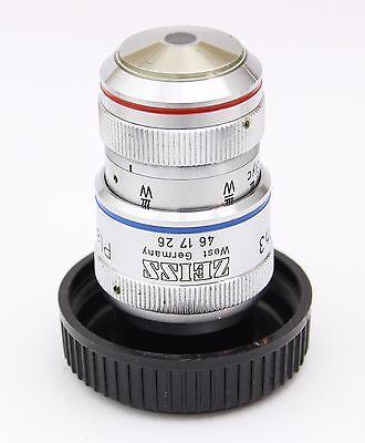Zeiss Plan Neofluar 40x 0.90 160mm Ph3 Imm Microscope Objective Oil Glyc Water